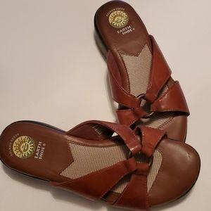 Earth Shoe Gelron 2000 Women's Sandals Shoes, Sz 9